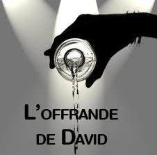 L'offrande de David