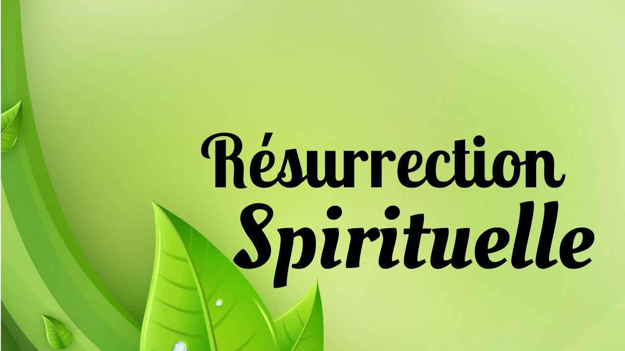 La resurrection spirituelle -Sapproprier la promesse 2