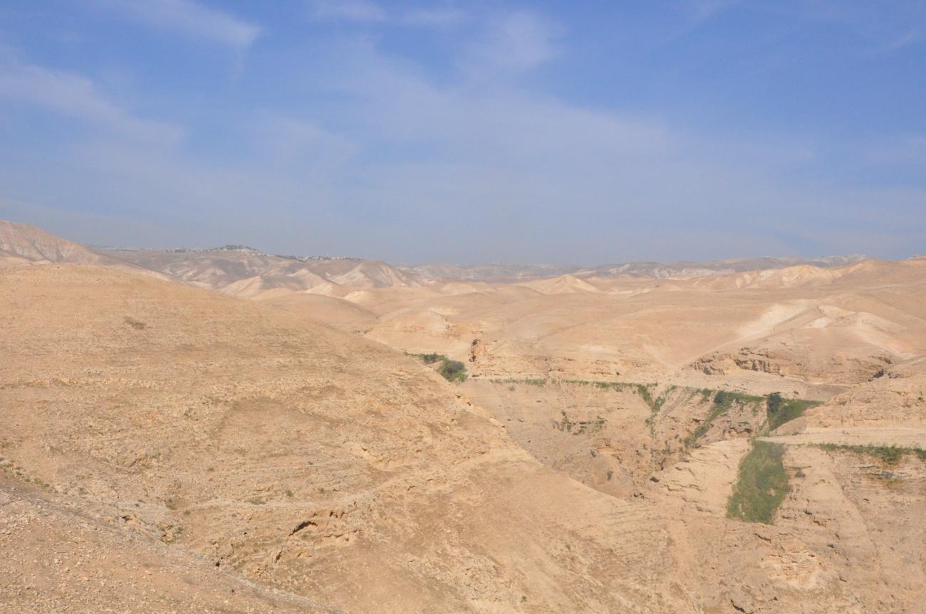 Direction le désert